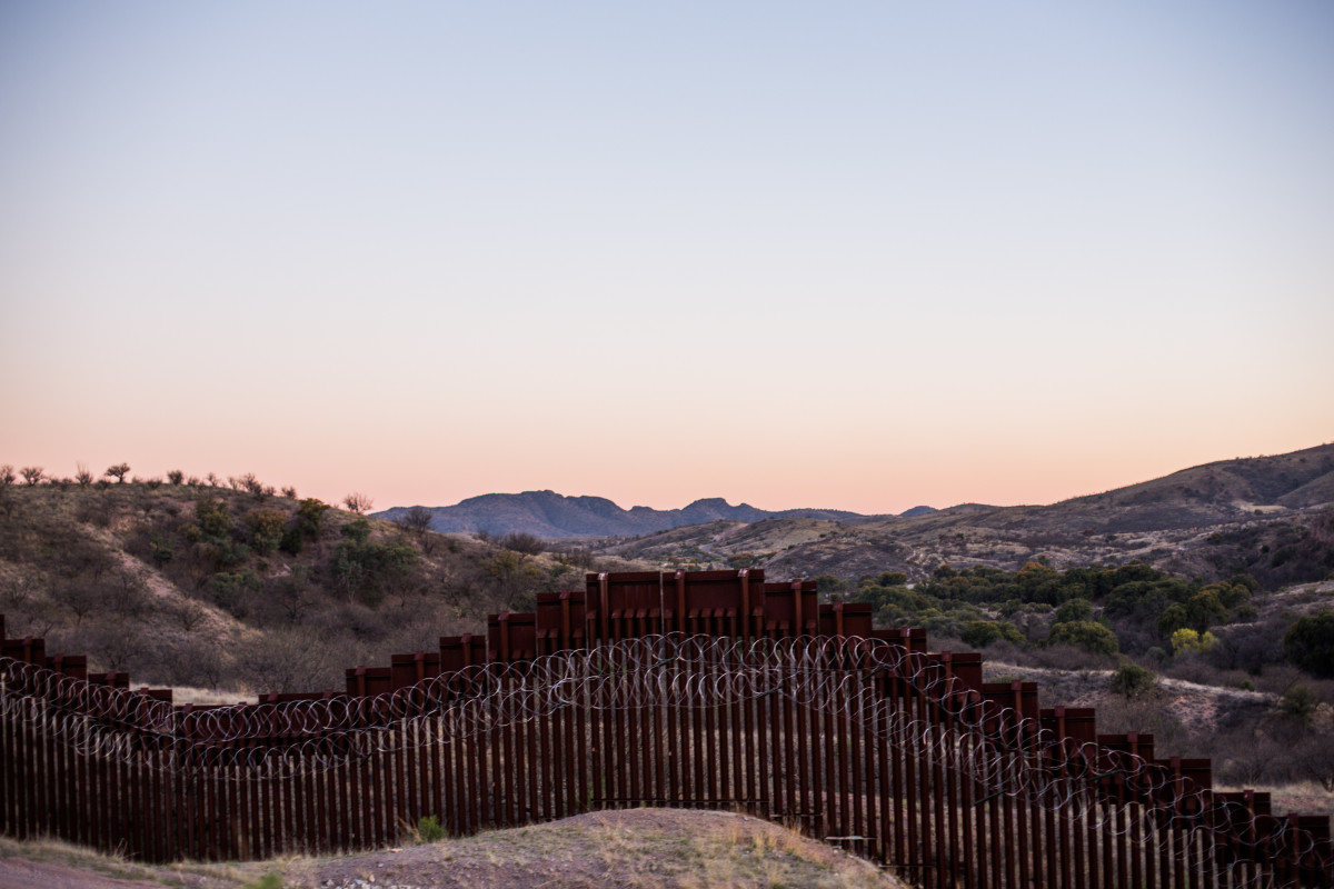 The border fence essentially creates two versions of Nogales, cutting directly through the city: an American one and a Mexican one.
