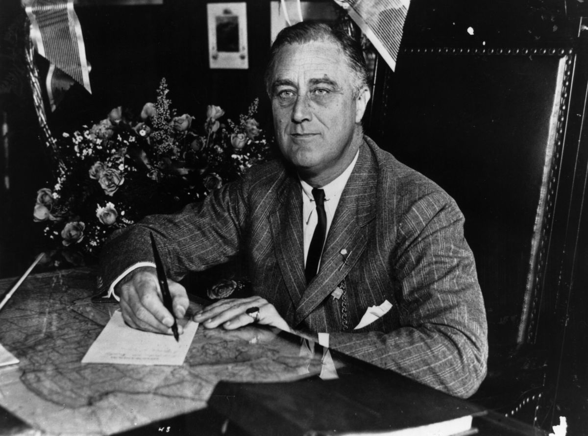 President Franklin Delano Roosevelt, pictured in 1936.