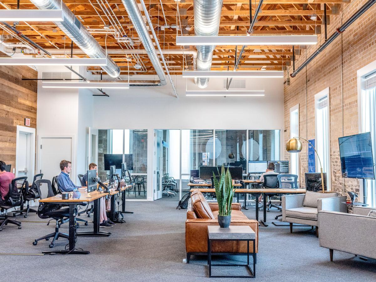 work workplace business job interview