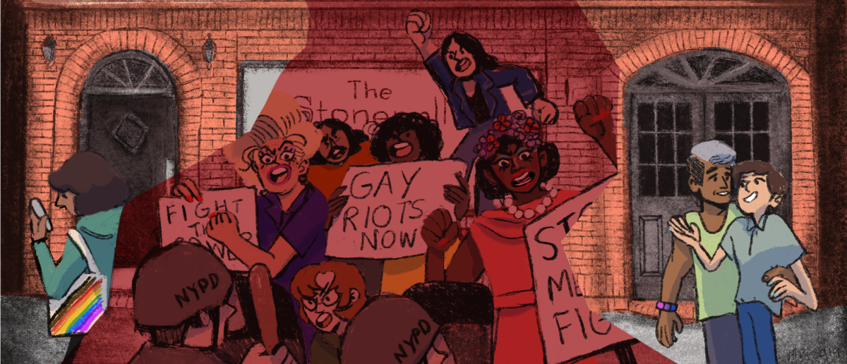 The Stonewall Inn, then and now.