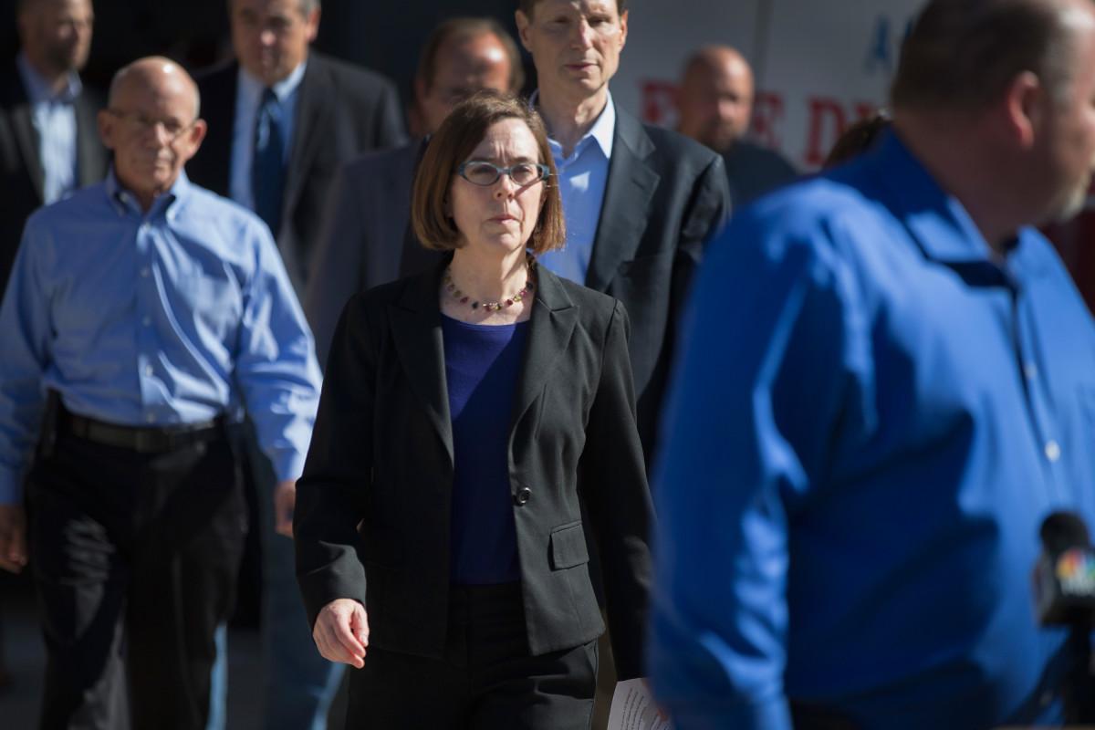 Oregon Governor Kate Brown.
