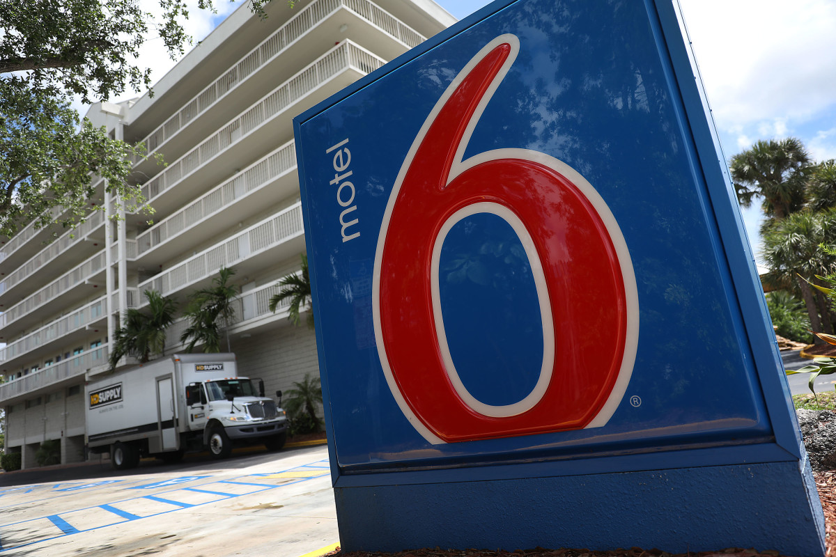 A Motel 6 in Cutler Bay, Florida.