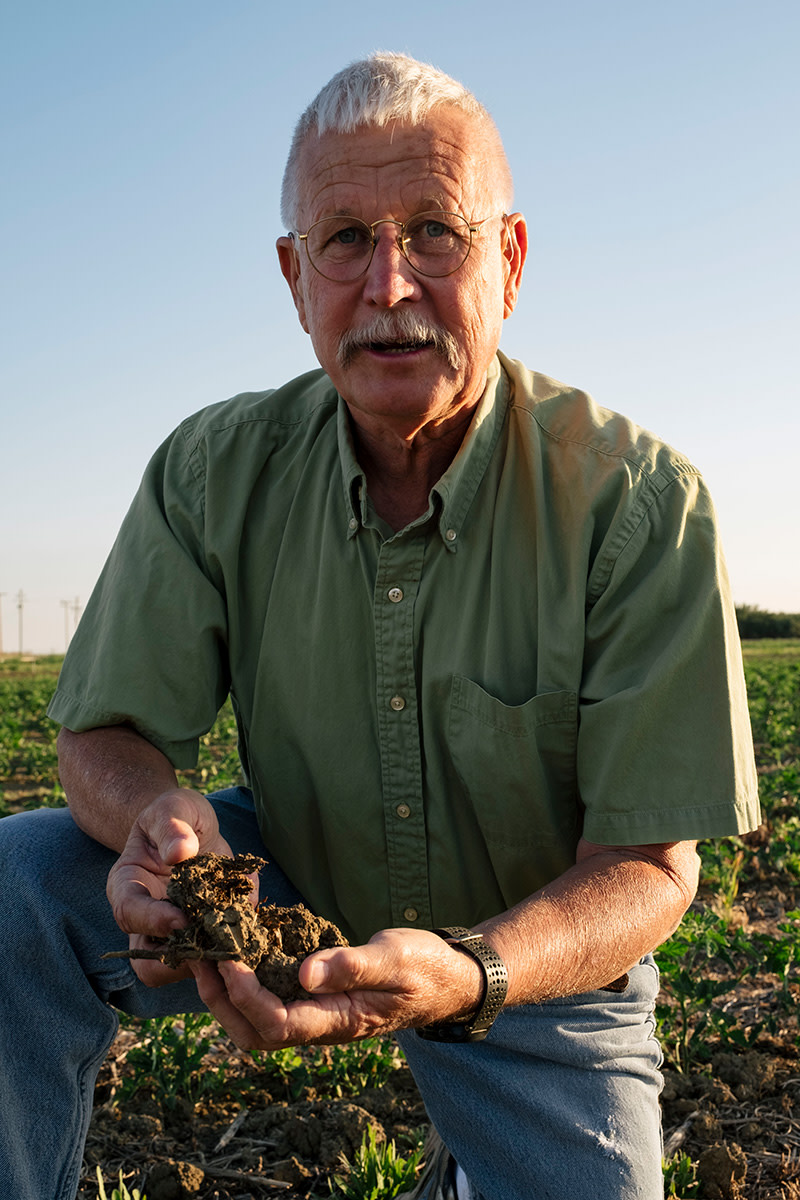 Jeff Mitchell, an agricultural extension agent affiliated with the University of California–Davis.