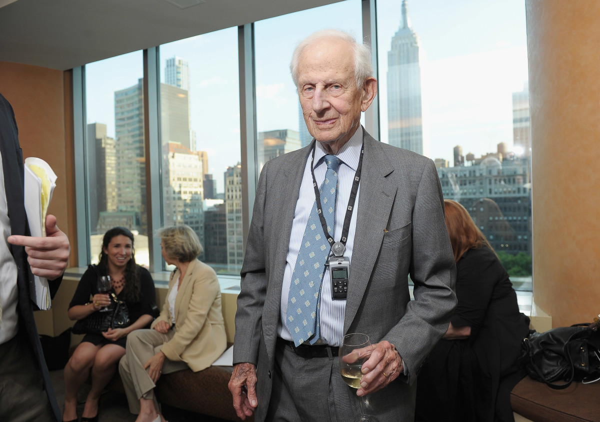 Former Manhattan District Attorney Robert Morgenthau attends an HBO documentary screening of Sex Crimes Unit on June 15th, 2011, in New York City.