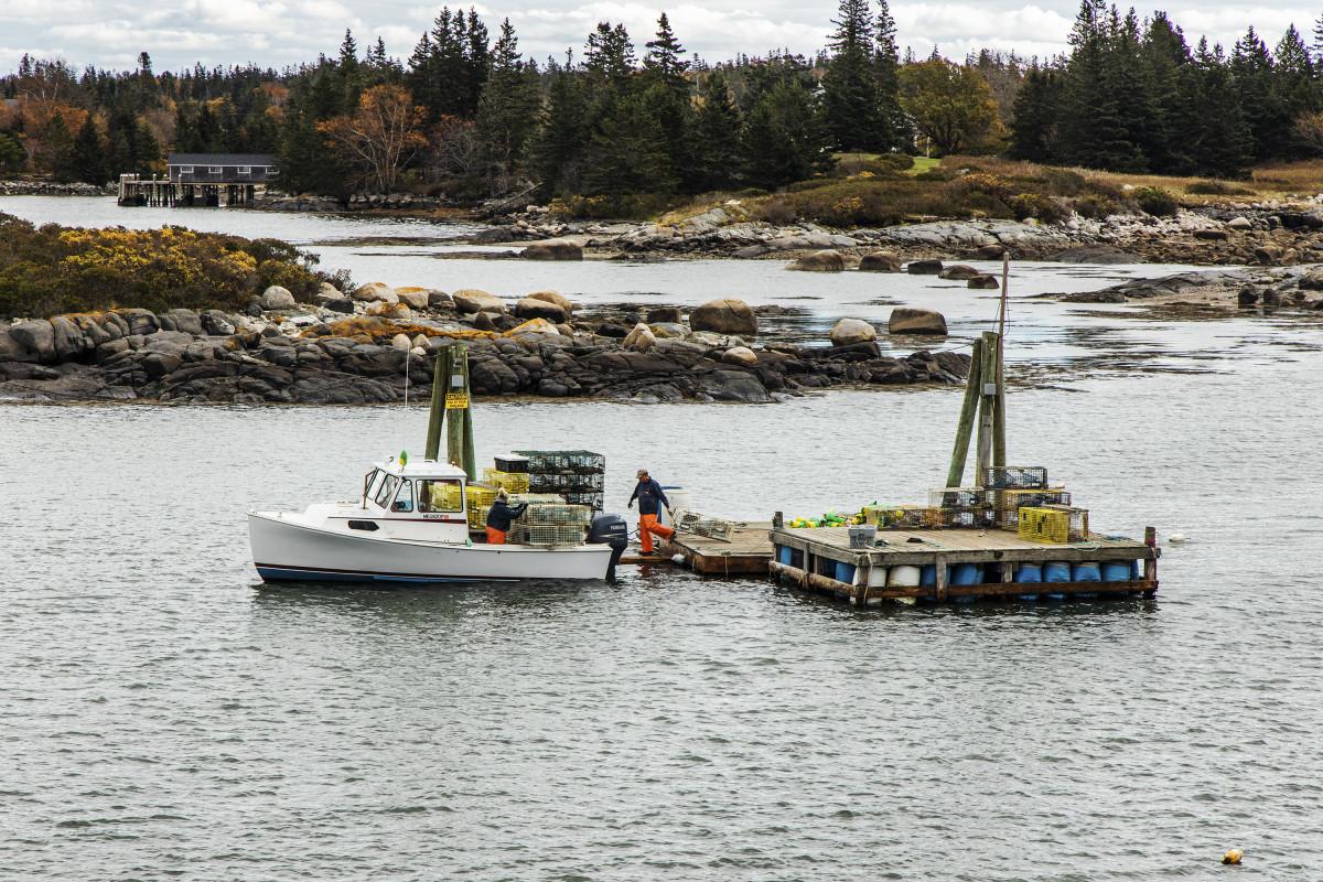 Vinalhaven, Maine.