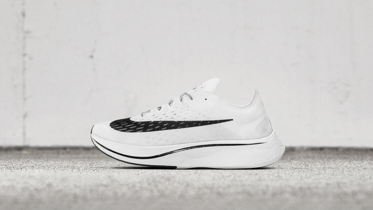 The Vaporfly 4% is just the most conspicuous example in the arms race underway to engineer pace-enhancing shoes.