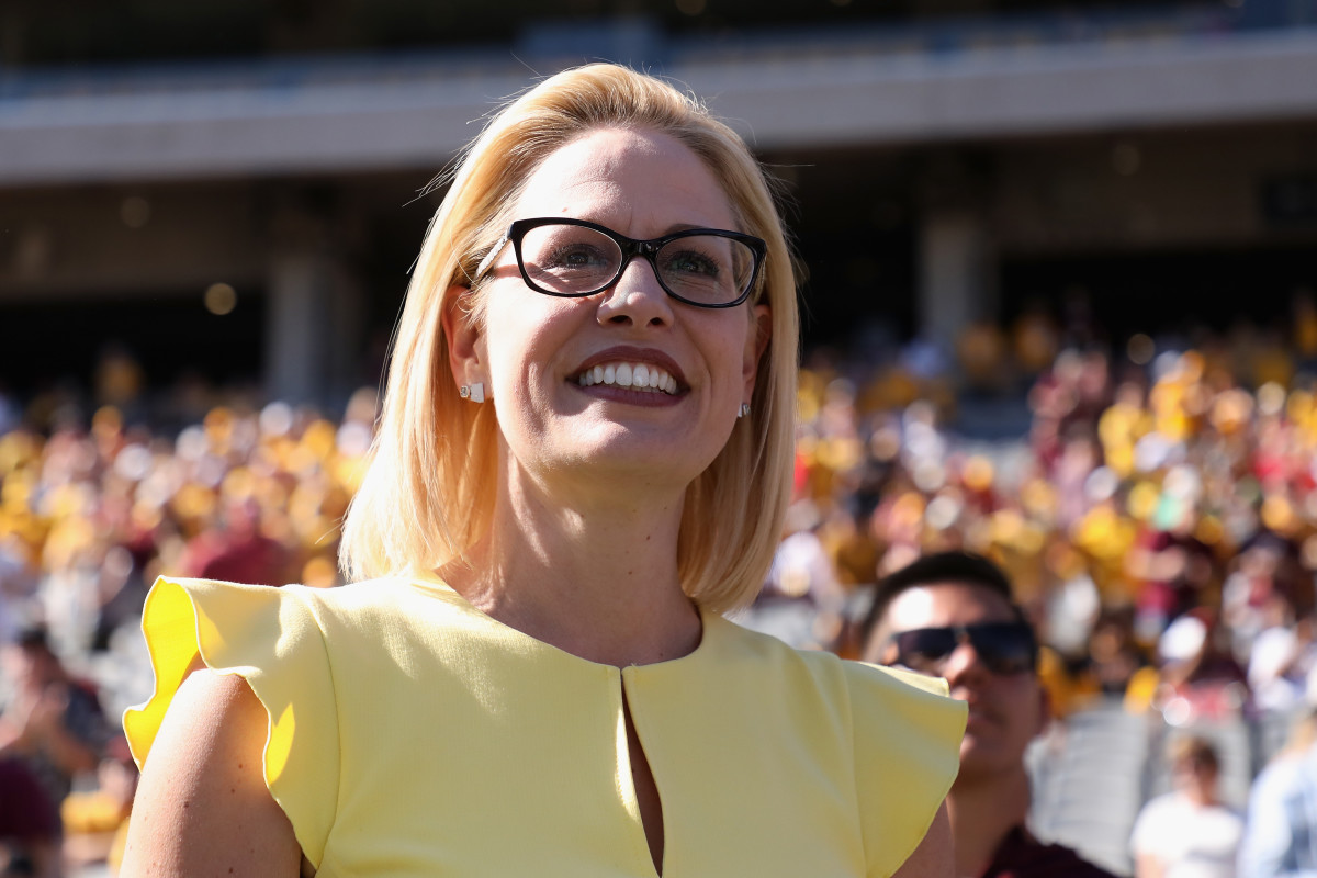 Arizona's Democratic U.S. Senator Kyrsten Sinema