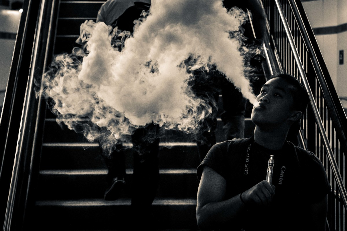 The percentage of high school seniors who said they had vaped in the past month jumped from 11 percent in 2017, to more than 20 percent in 2018.