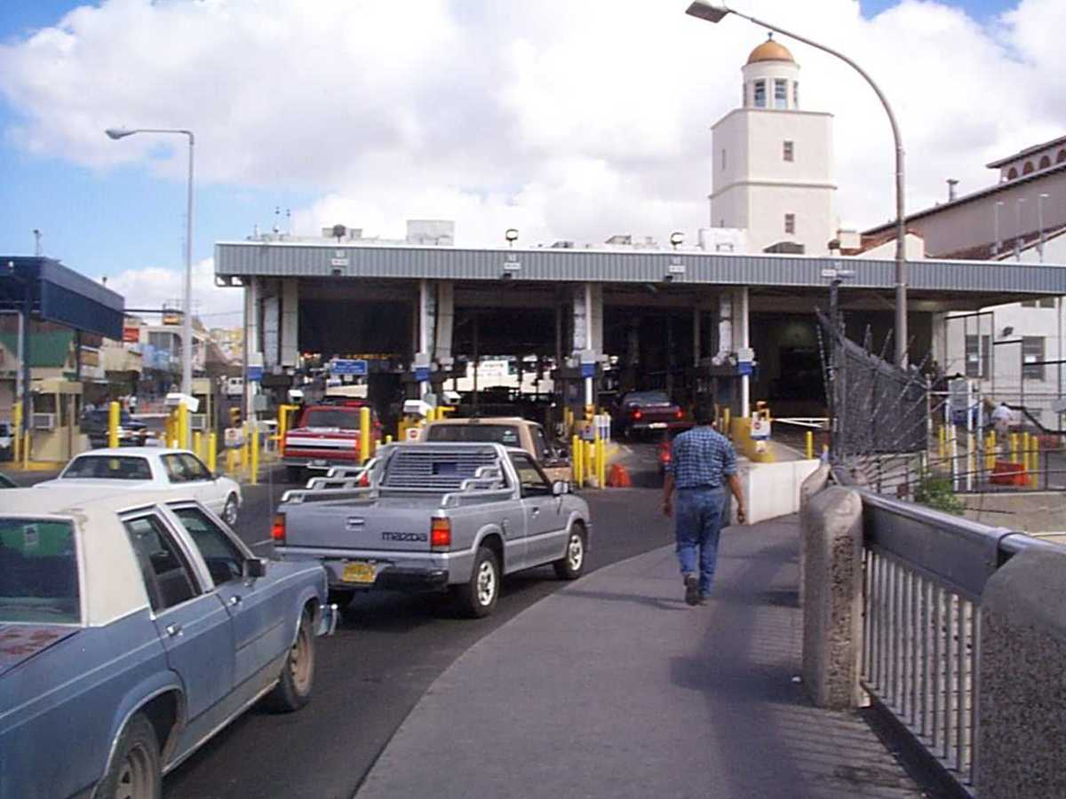 The Laredo Convent Avenue Port of Entry, in Laredo, Texas.