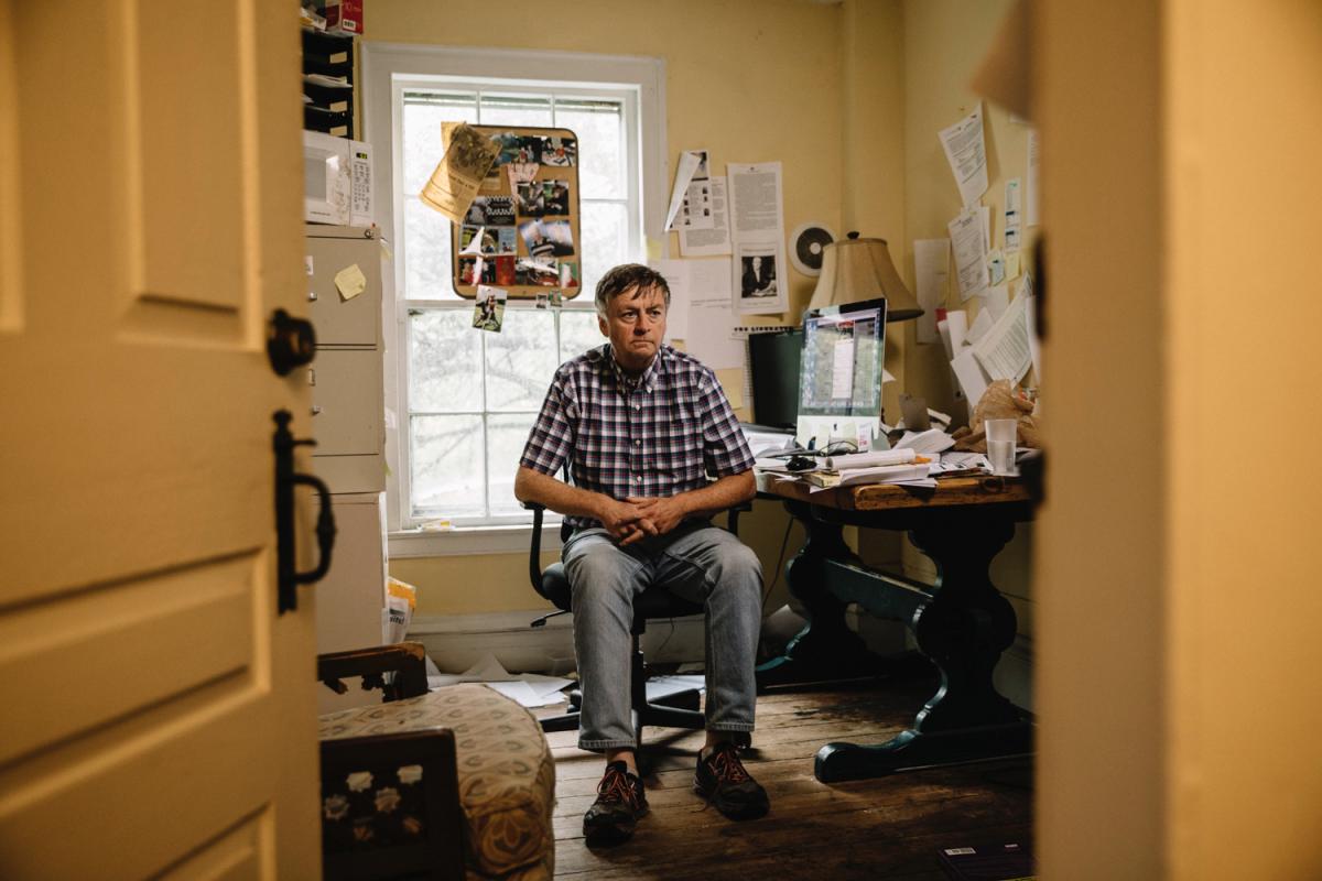Dennis Cauchon at his office in Ohio.