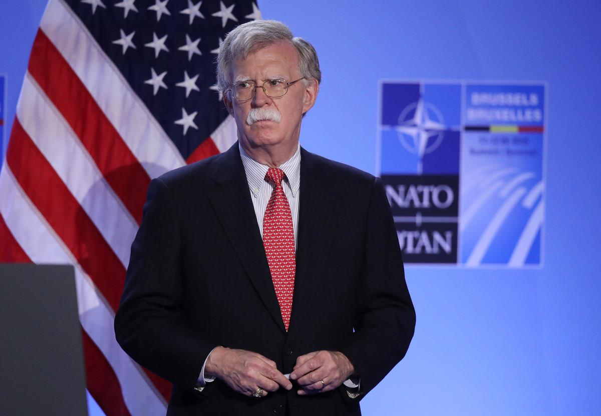 U.S. National Security Adviser John Bolton.