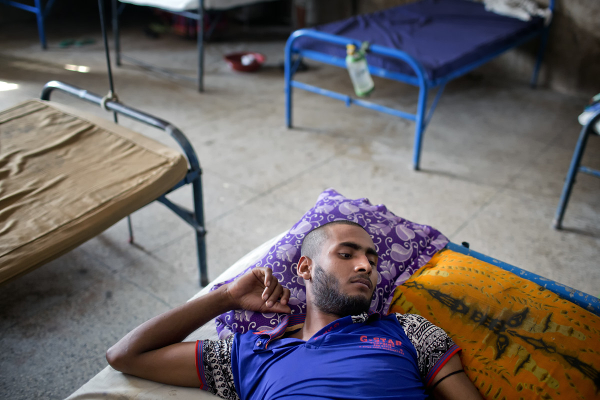 According to Johns Hopkins University epidemiologist Emily Gurley, Bangladesh medical facilities have very little to offer patients like this young man in the Faridpur Medical College Hospital, so often people who fall ill don't bother to seek treatment. That can make tracking diseases like Nipah a huge challenge.