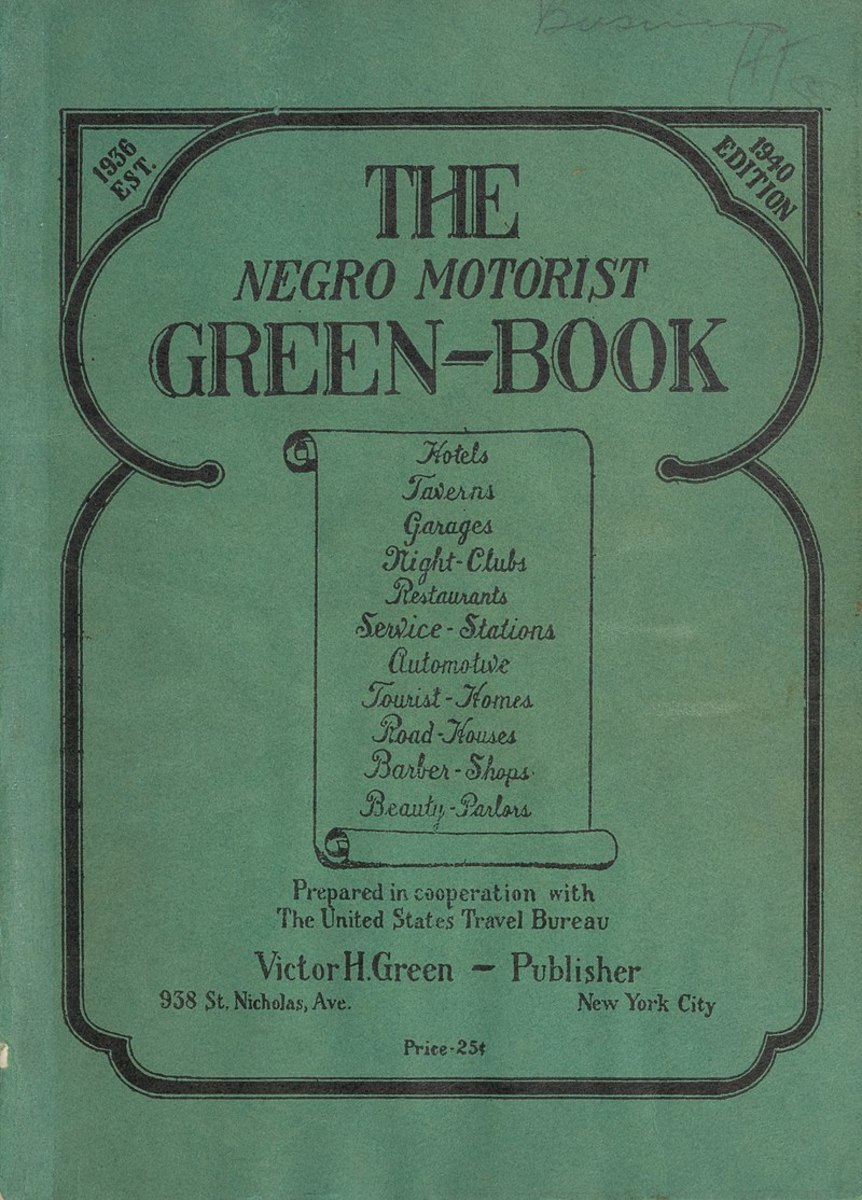 The Negro Motorist Green Book, 1940 edition.