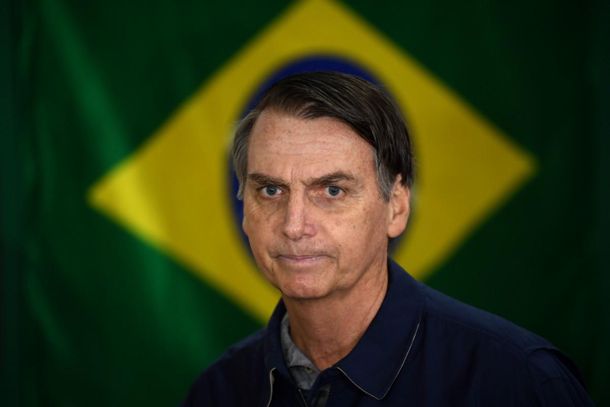 Brazilian President Jair Bolsonaro.