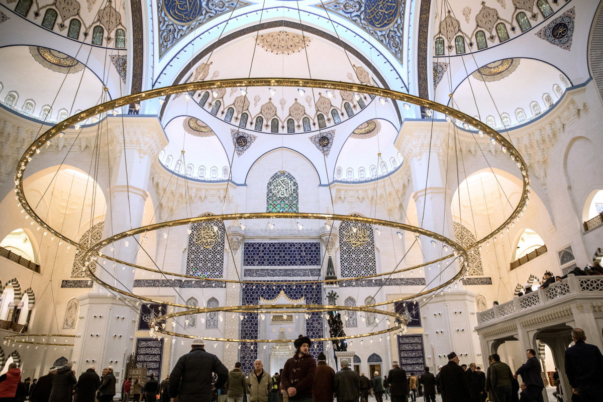 The Opening of Turkey's Largest Mosque (in Photos) - Pacific Standard