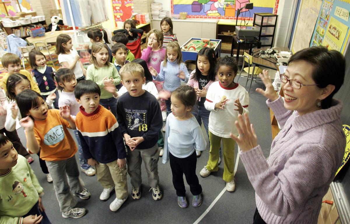 a first grade classroom