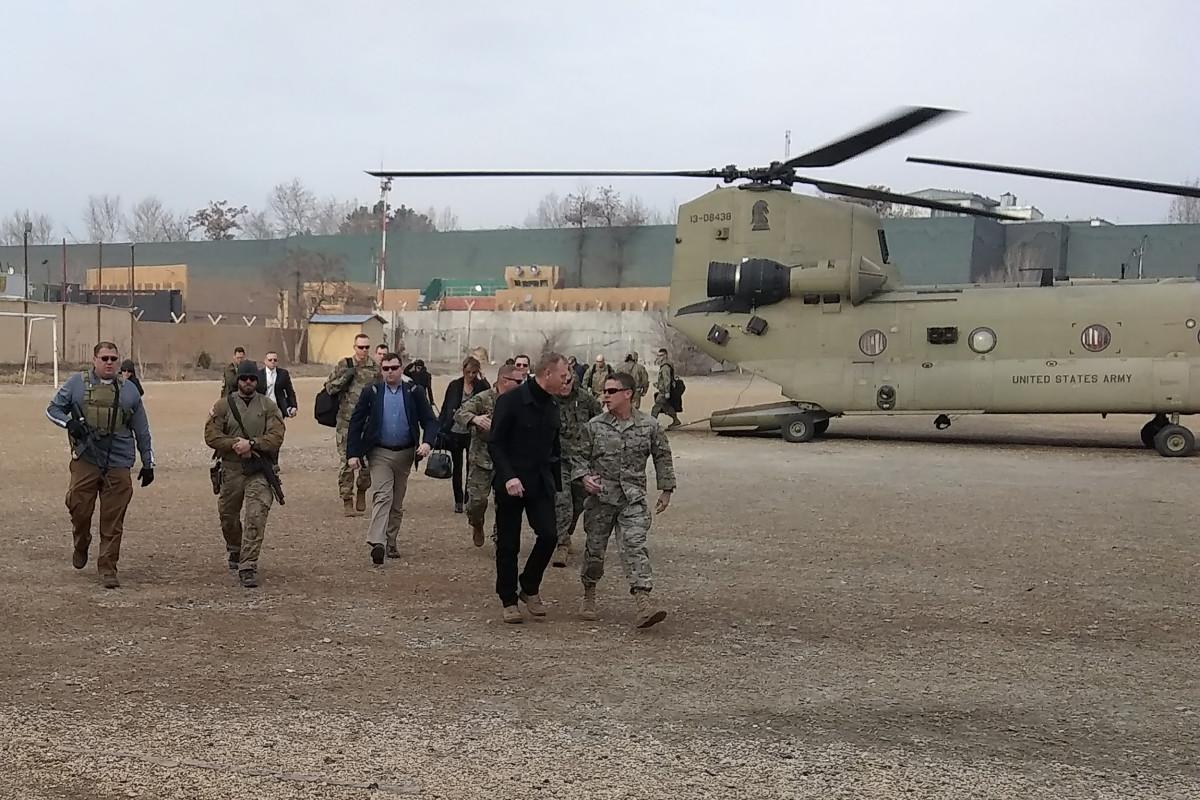 Acting Pentagon chief Patrick Shanahan
