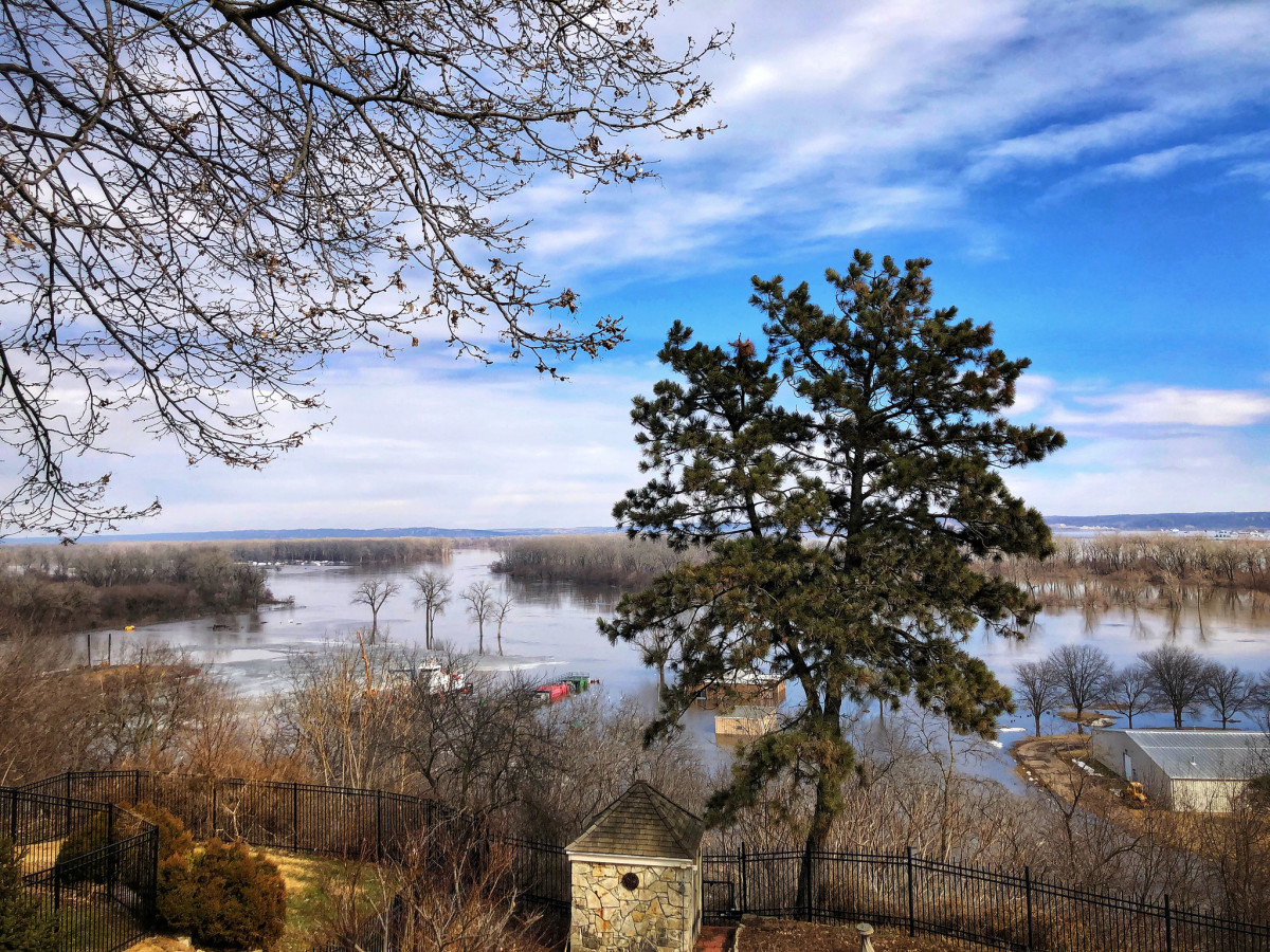 Flooding in Nebraska, March of 2019.