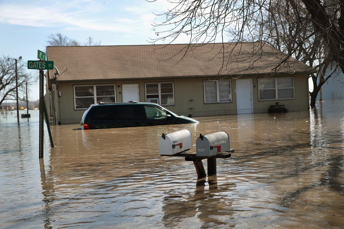 The U S  Is Bracing for Another Big Storm—and More Flooding