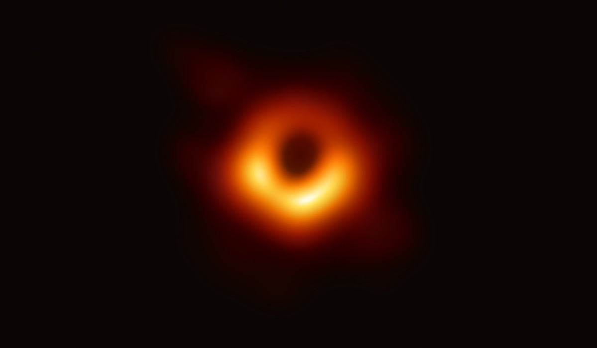 Scientists have obtained the first image of a black hole, using Event Horizon Telescope observations of the center of the galaxy M87.