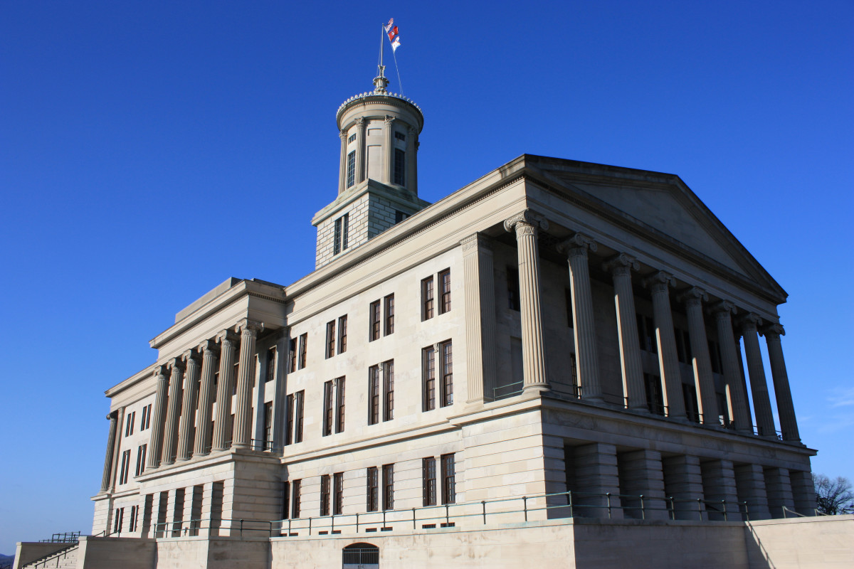 The Tennessee State Capitol in Nashville.