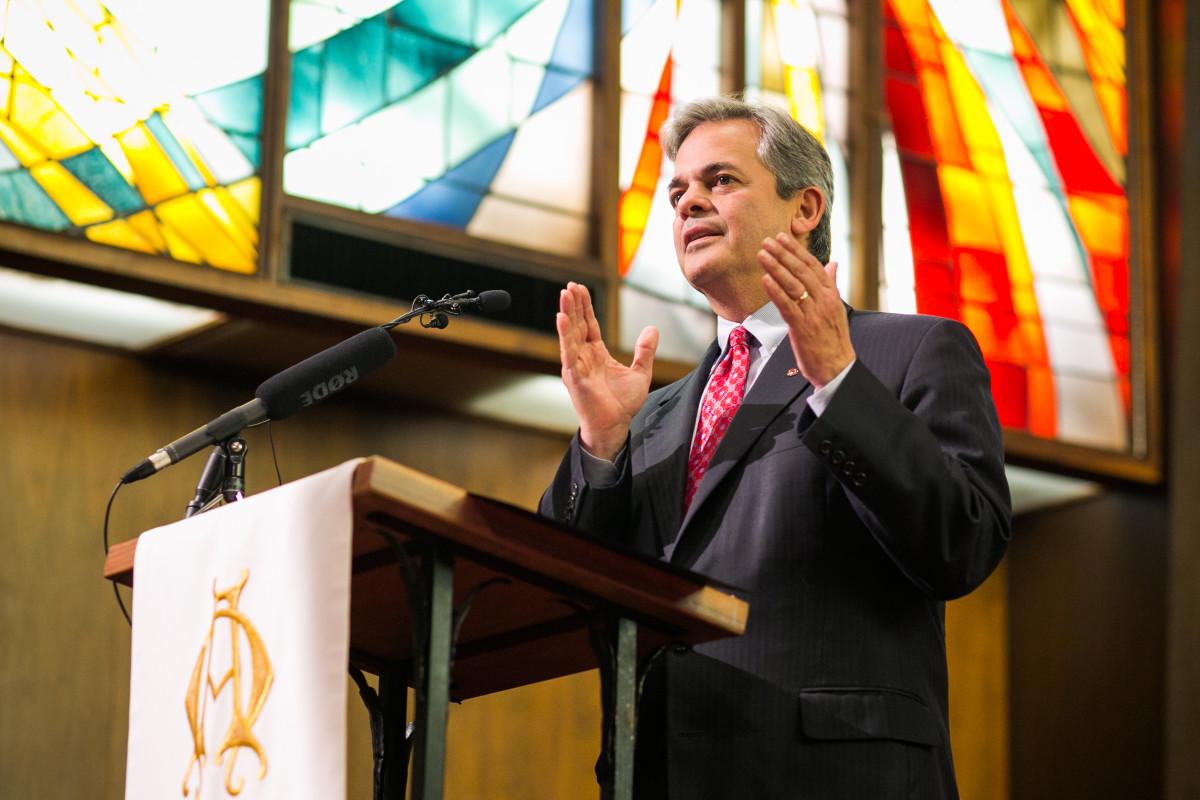 Austin Mayor Steve Adler.