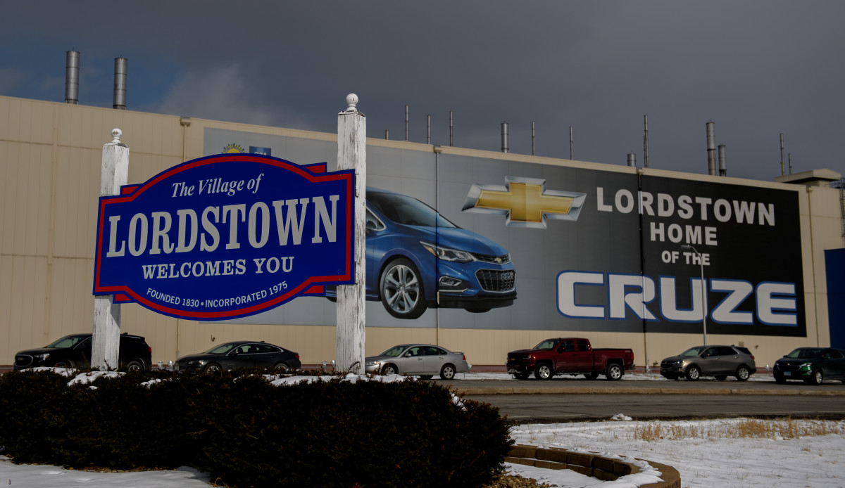 The Lordstown GM plant.